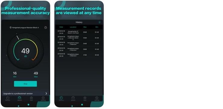 Sound meter application 11