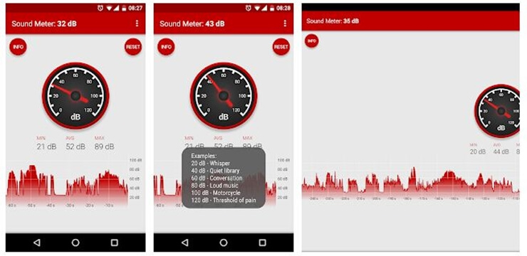 Sound meter application 5