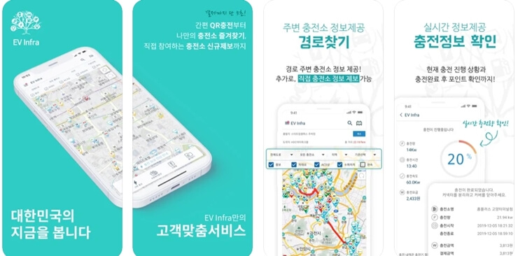 Electric vehicle charging station App 2