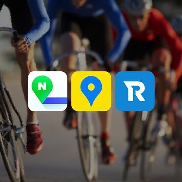 Bicycle navigation app